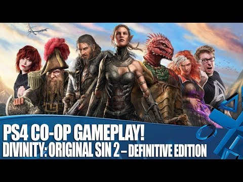 Divinity: Original Sin 2 – Definitive Edition PS4 Co-op Gameplay