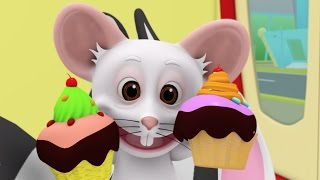 The Muffin Man | Nursery Rhymes | Kids Songs Collection | 3D