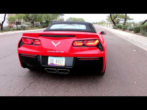 2016 C7 Corvette with Billy Boat Fusion Exhaust, Xpipe and Cold Air Intake