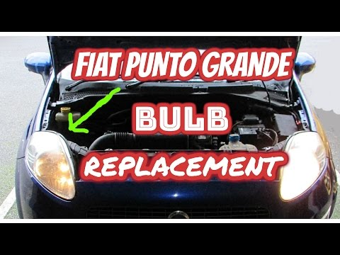 fiat punto bulb replacement