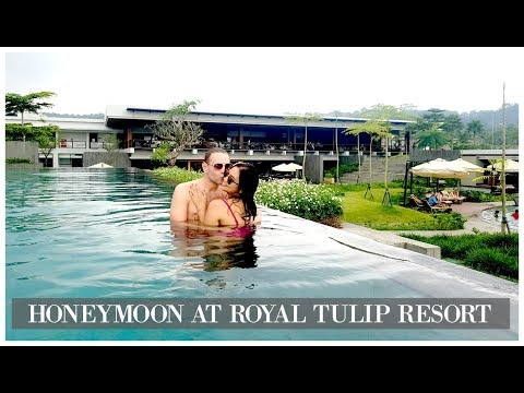 VLOG #10 Malam Pertama Honeymoon In Royal Tulip Gunung Geulis Resort | 22-23 April 2017 ♡ ZebbyZelf