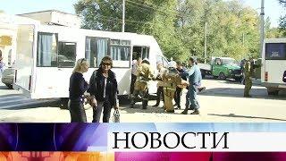 На месте трагедии в Керчи работают взрывотехники, после к осмотру здания приступят следователи.