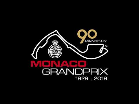 Logo 90th anniversary - Monaco Grand Prix 2019