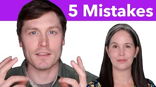 Learning English Speaking—5 Common Mistakes in ENGLISH SPEAKING and How to FIX Them | English Lesson