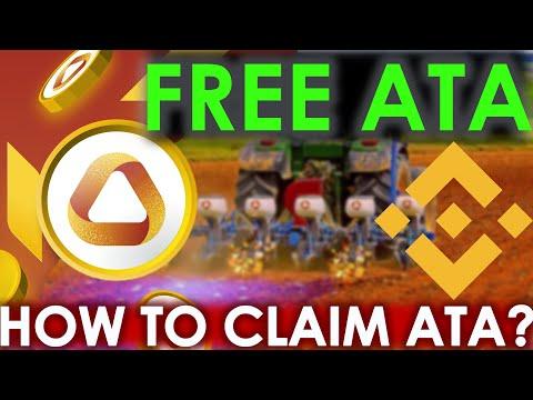 🔴 Free ATA Tokens every Hour | Automata Coin Farming on Binance | Guide to Farm & Claim ATA