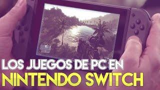 Nintendo Switch y PC ¡SE UNEN! ¡100% COMPATIBLE! ¡MASTER RACE SWITCH!