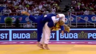 Top 10 ippons 2015 women