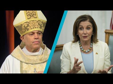 Pelosi's Bishop: No Communion for Pro-Abortion Politicians