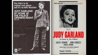 Rare Japanese Mix Of JUDY GARLAND AT THE PALACE 1967
