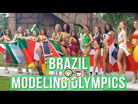 Modeling Olympics – Brazil Beauty Pageant in 1 minute!