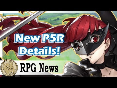 New Persona 5 Royal Details, Falcom Talks Switch! JRPG Weekly Update!