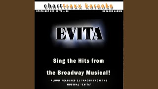 Goodnight and Thank You (Karaoke Version In the Style of Evita)
