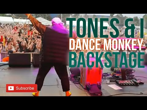 Tones & I - Dance Monkey (LIVE at Land of Plenty)