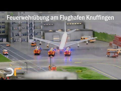 KNUFFINGEN AIRPORT - Feuerwehrübung - MiWuLa   RC 1:87
