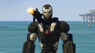 ULTIMATE WAR MACHINE MOD! (GTA 5 Mods Funny Moments)