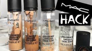 M.A.C HACK: REMOVING THE MAC PRO LONGWEAR CONCEALER PUMP| NikkisSecretx