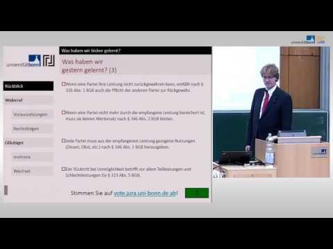 Verbraucherschützender Widerruf (§ 355 BGB) ☆ Schuldrecht Vorlesung 14