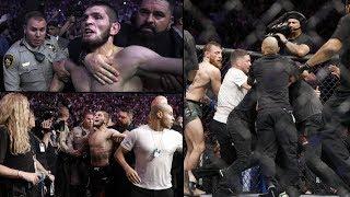 What Happened after McGregor vs Nurmagomedov Fight | Ultimate Fighting Championship 2018