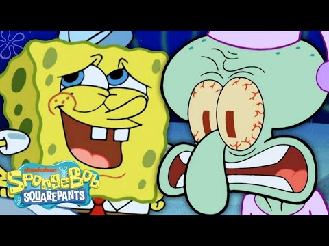 7 Reasons Why SpongeBob is the Worst Neighbor Ever! 🍍 #BestSpongeBobMoments