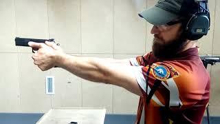 Стрельба из  пистолета для начинающих  Хват, стойка, спуск