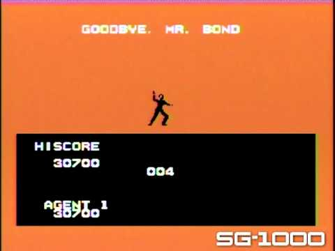 007 JAMES BOND (SG-1000 / MASTER SYSTEM) gameplay