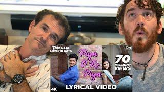 Piya O Re Piya Song REACTION!! - Tere Naal Love Ho Gaya  | Atif Aslam, Shreya
