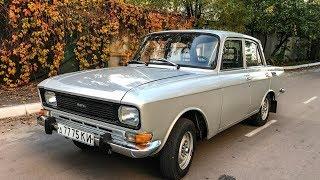 Нашел почти новый Москвич-2140 в заводском цвете металлик Капсула Времени