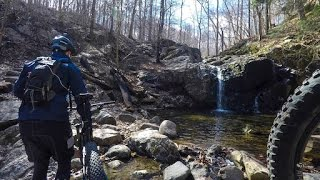 Mountain Biking at Patapsco Valley State Park along the Morning Choice Trail and Drugs. Skip to the end for Drugs.