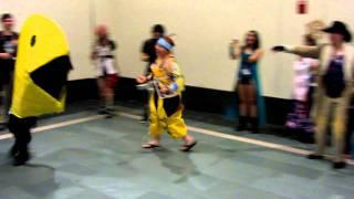 Pac-Man chases Wakka's Blitzball (AB 2011)