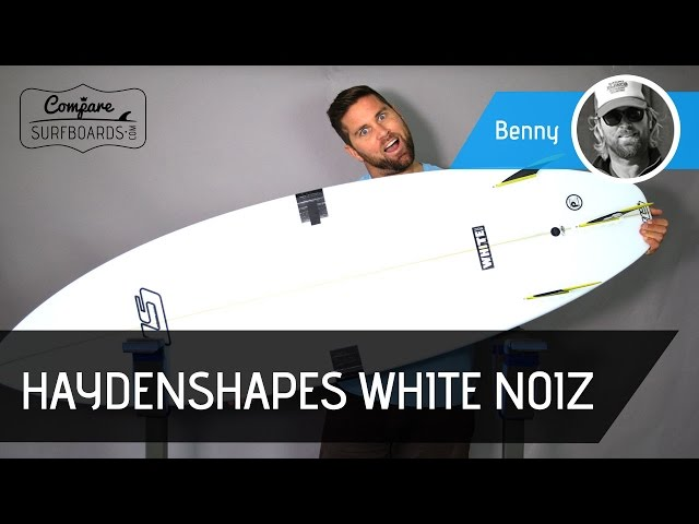Haydenshapes White Noiz Surfboard Review | Compare Surfboards