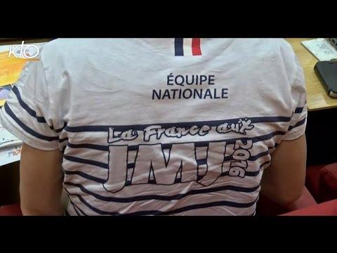 Aux JMJ les Français se reconnaissent à leurs marinières