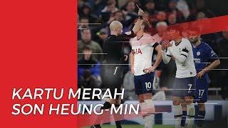 Pertandingan Tottenham Hotspur Vs Chelsea Diwarnai Kartu Merah untuk Tuan Rumah
