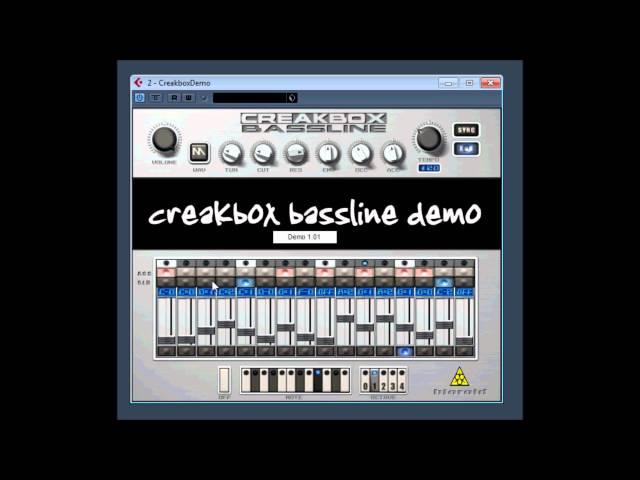 CreakBox Bassline Bad Boys DEMO by Bioroid