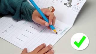 Les élèves gauchers et les cahiers d'écriture