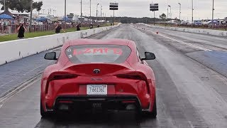 2020 Supra Vs. FL2K - Weight Reduction & 10 Second Passes!