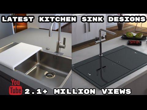 Modern Kitchen Sink Design   Latest Kitchen Interior design ideas 2019