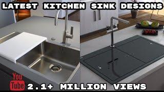 Modern Kitchen Sink Design | Latest Kitchen Interior Design Ideas