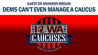 Gaetz on Bream: Dems Can't Even Manage A Caucus
