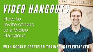 How to invite people to a Google Hangout