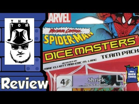 Marvel Dice Masters: Spider-Man Maximum Carnage Review - with Tom Vasel