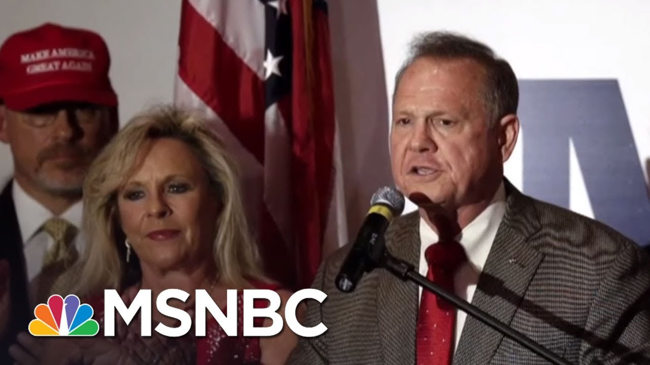 Roy Moore: Allegations 'Completely False And Untrue' | AM Joy | MSNBC thumbnail