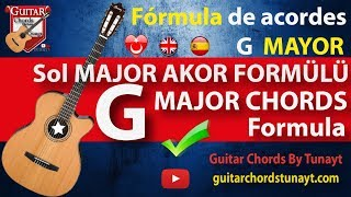 How To Play G Major Chord | Sol Major G Akoru Nasıl Çalınır ¿Acorde Mayor Sol