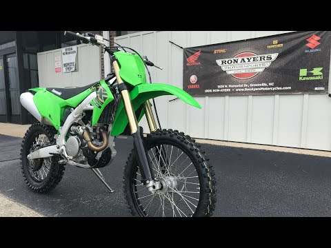 2021 Kawasaki KX 450X in Greenville, North Carolina - Video 1