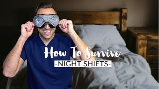 DOCTOR Night Shift Routine   TIPS on How to Survive NIGHT SHIFTS   How to Sleep Better