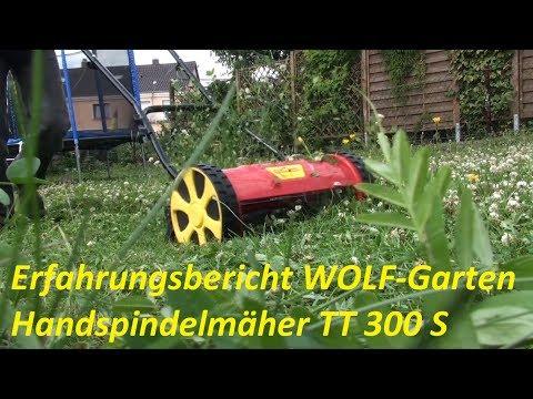 WOLF Handspindelmäher TT 300 S
