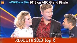 RESULTS   Top 2 American Idol 2018  REVEALED American Idol 2018 Grand Finale  top 2