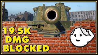 Type 5 Heavy - 19,5K Damage Blocked - World of Tanks Gameplay