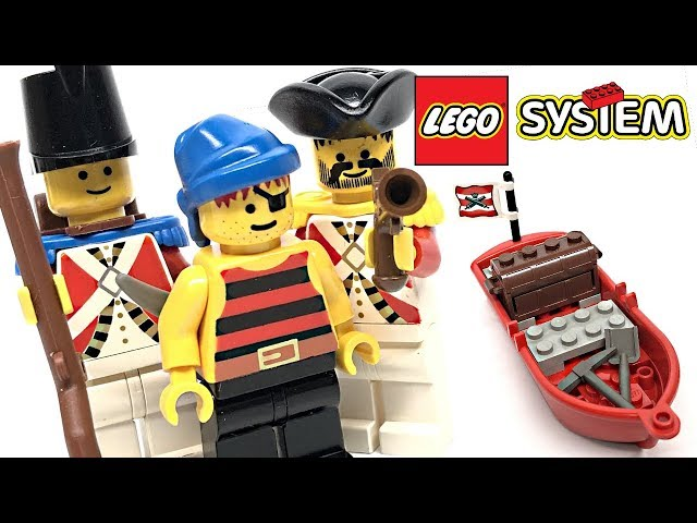 LEGO Pirates Bounty Boat review! 1992 set 6247!