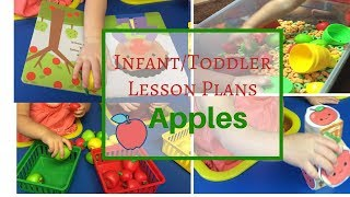 Toddler Lesson Plans- Apple Theme