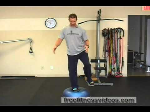 BOSU Ball Single-Leg Balance